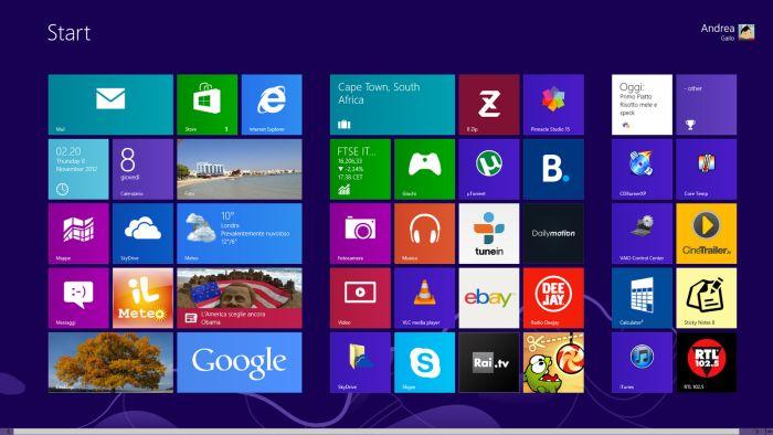 Come aggiornare da Windows 7 a Windows 8