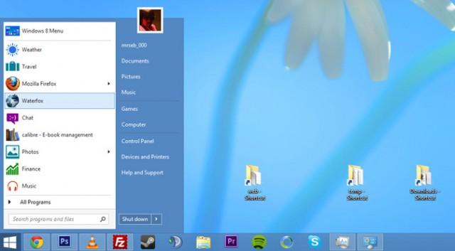 Windows 8: Ritorna il pulsante Start