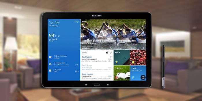 Samsung presenta Tablet Pc Galaxy Note Pro e Galaxy TabPro