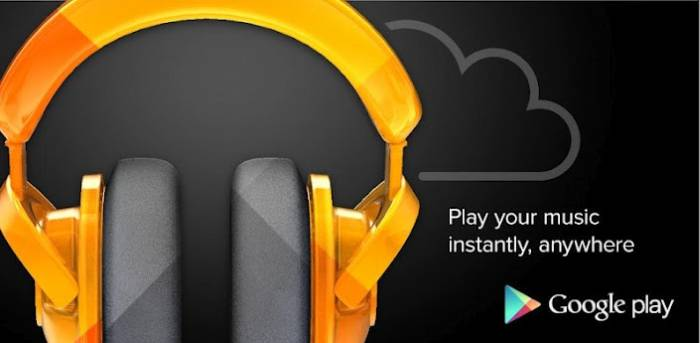 Google Play Music: Upload  dei brani